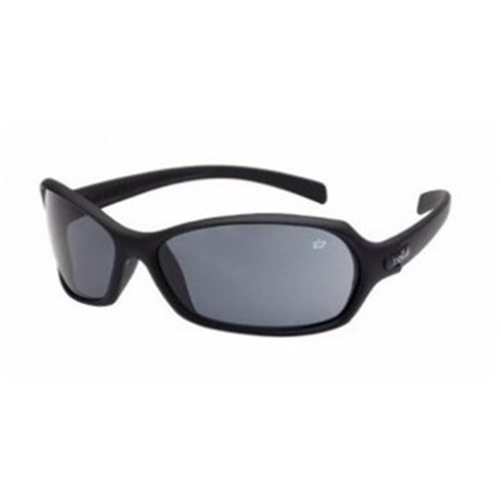 B6-1662202 - HURRICANE Safety Glasses Black Frame Smoke ...